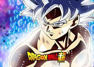 details zu dragon ball super poster a0 a2 son goku ultra instinct