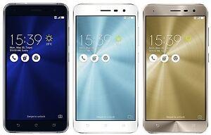 "ASUS ZenFone 3 ZE520KL 32GB (Factory Unlocked) 5.2"" Dual Sim - Black Gold White"