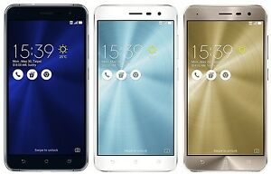 "ASUS ZenFone 3 ZE520KL 32GB (Factory Unlocked) 5.2"" Dual Sim - Black Gold White"