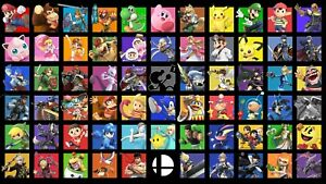 details about super smash bros ultimate poster a0 a2