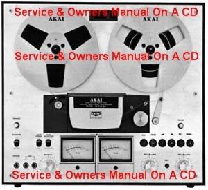 AKAI GX270D SERVICE & OPERATOR'S MANUAL ON A CD | eBay