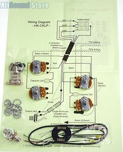 NEW Wiring Kit for Gibson EPIPHONE® LES PAUL COMPLETE w
