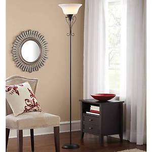 Floor Decor Lamp Elegant Living Room Scroll Torchiere