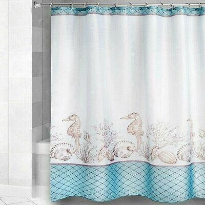 sea turtles fabric shower curtain jewel
