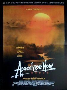 details about apocalypse now redux cartel cine original plegable 53x40 movie poster coppola
