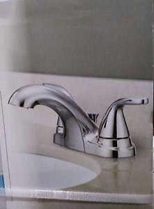 details about moen adler chrome 2 handle bathroom faucet 84603