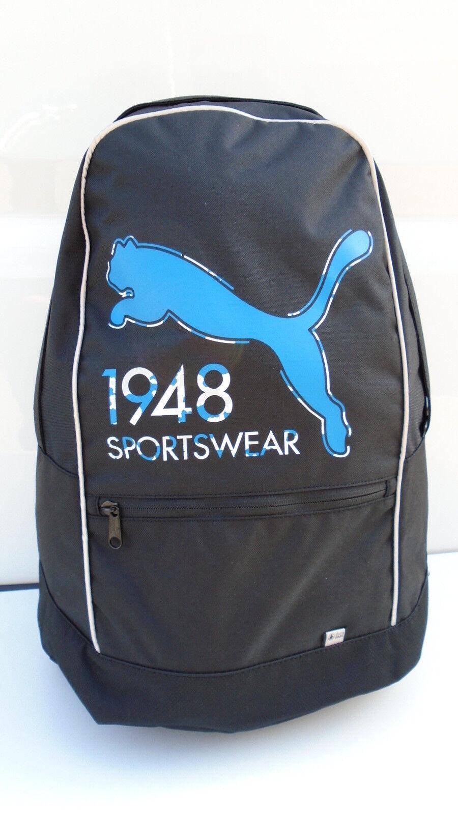 843dcd45fb43d PUMA Rucksack schwarz Backpack für Sport Freizeit Reise Schule ...