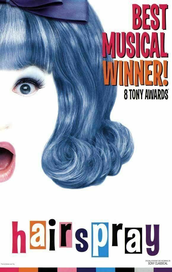 Image 1 - Hairspray 27x40 Broadway Show Poster