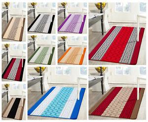 Non Slip Gel Back Kitchen Mat Rug Doormat Hallway Runner Rugs Washable Floor Mat Ebay