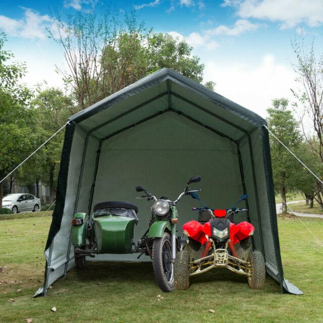 abba patio storage shelter 6 x 8 grey