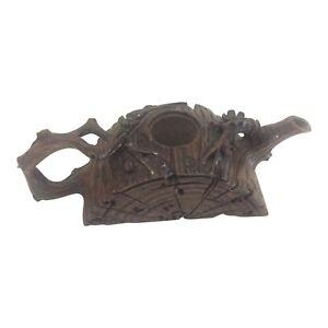 19th Century Yixing Teapot - Wood Form