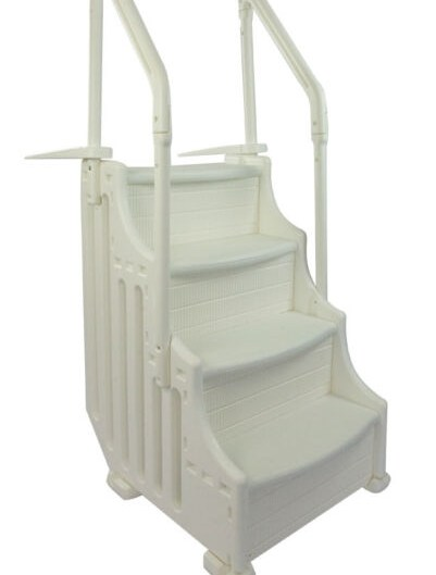 Mighty Step Outside Pool Ladder For Sale Online Ebay | Outside Steps For Sale | Wood | Iron | Handrail | Pensacola | Door