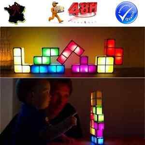 image is loading original tetris lampe de bureau salon veilleuse decoration