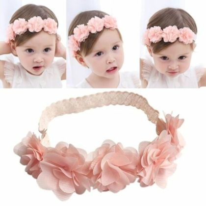 Kids Baby Girl Toddler Cute Lace Flower Hair Band Headwear Headband     Kids Baby Girl Toddler Cute Lace Flower Hair Band Headwear Headband  Accessories