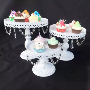 3PCS CUPCAKE STAND Wedding Cake Holder Birthday Party Dessert     Image is loading 3PCS CUPCAKE STAND Wedding Cake Holder Birthday Party