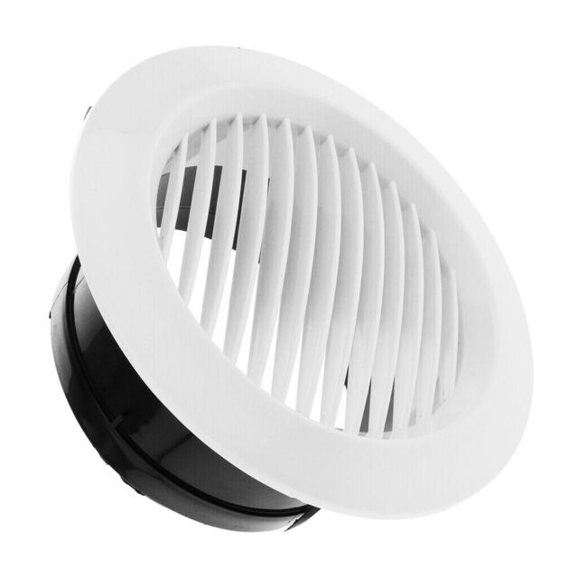 round air vent abs louver grille cover