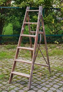 Alte Leiter Aus Holz Kaufen Auf Ricardo