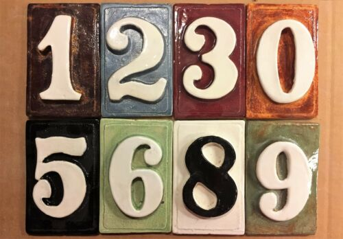 home decor plaques signs condo room 3d tiles applewood pottery frame number address plaque apartment home garden