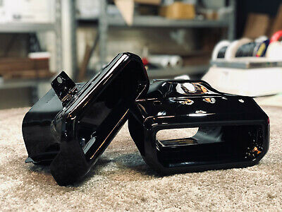 2019 2020 2021 chevy silverado gmc sierra exhaust tips gloss black oem at4 ebay