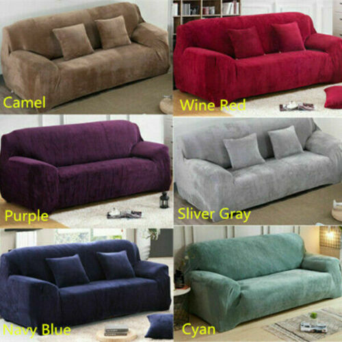 new warm plush sofa cover sectional corner couch covers home decor 1 2 3 4 seats