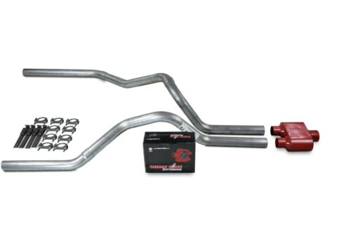 car truck parts chevy gmc 1500 truck 96 99 2 5 dual truck exhaust kits cherry bomb extreme car truck exhausts exhaust parts