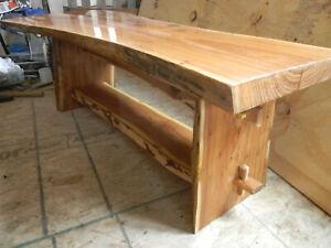 details about live edge custom handmade wood slab coffee table