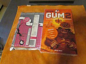 GUM MAGAZINE ART DESIGN MAGAZINE ZINE ISSUES 1 AND 2 RARE!!