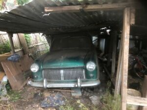 Ford 1954 consul barn find project zephyr
