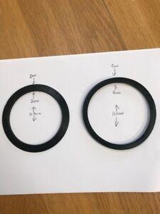 details about kitchen sink waste drain plug leak repair washers top and bottom 90mm strainer
