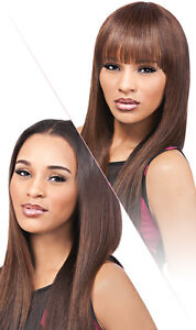 outre velvet 100 remi human hair clip in bangs duby top piece 12 ebay