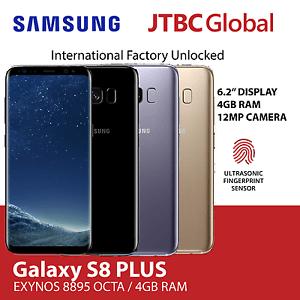 New Samsung Galaxy S8 Plus G955FD Dual Sim 6.2 Inch 12MP 64GB Factory Unlocked