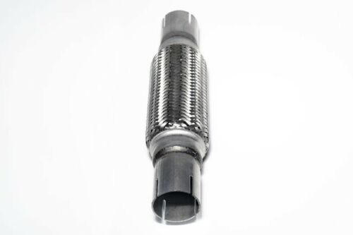 car truck parts heavy duty exhaust flex pipe stainless steel double braided 12 2 5 91 1 77 car truck exhausts exhaust parts