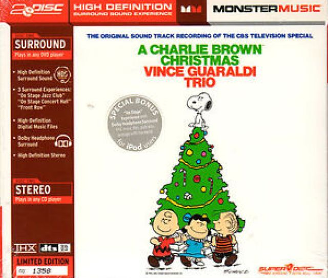 Image Is Loading Vince Guaraldi Trio A Charlie Brown Christmas Thx