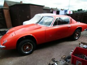 1967 Lotus Elan + 2 Sports Restoration Project No Engine or Gearbox