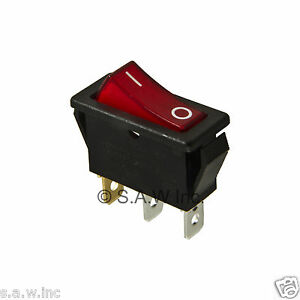 Rocker Switch Lighted On Off for Electric Fireplaces FMI Desa 12092724 120 volt   eBay