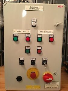 SUMP PUMP CONTROL PANEL MOTOR STARTER PANEL FLOAT SWITCH