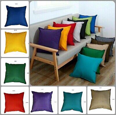 waterproof 18 x 18 inch outdoor cushion covers garden zipped square 45 x 45 cm ebay
