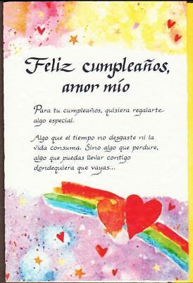 Valentine Card Design Happy Birthday Card For Mom In Spanish