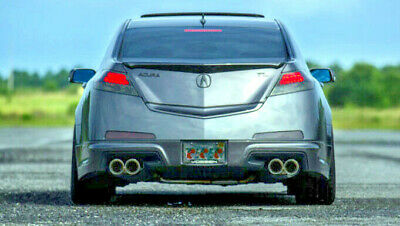 stainless steel dual exhaust tips 4 0 2 5 for acura 04 08 tls 09 11 tl 12 14 tl ebay