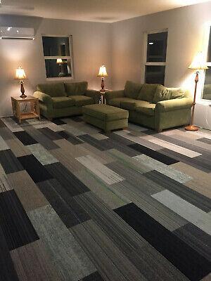 shaw carpet tile planks modular mixed gray patterns 1035 sq ft rectangles