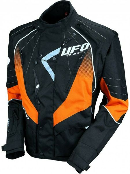 GIACCA MOTO OFF ROAD CROSS ENDURO QUAD UFO SIERRA COLORE ARANCIO GC 04439 F