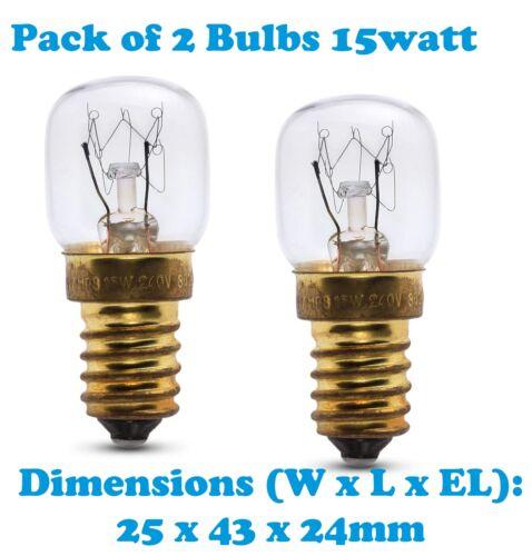 beleuchtung falcon 2x 15 watt ses e14 300c cooker oven microwave lamp bulb mobel wohnen ventolondrina com br