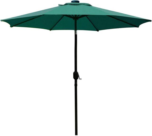 sunnyglade patio umbrella outdoor table 8 sturdy ribs waterproof