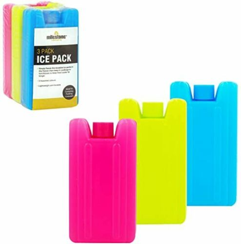 3PK-New-Reusable-Freezer-Cool-Blocks-Ice-Pack-Bag-GRT-4-Picnic-BBQ-Bucket-COOLER
