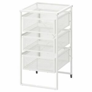 Ikea Lennart 3 Tiroirs Meuble De Rangement Roulettes Home Office Shop Utiliser Hold Papier A4 Ebay