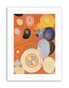 details zu modern hilma af klint abstract poster picture painting canvas art prints