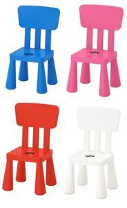 details sur ikea mammut enfant plastique chaise tout petits meubles interieur exterieur utiliser afficher le titre d origine