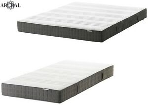 Image Is Loading Ikea Morgedal Memory Foam Mattress In Medium Firm
