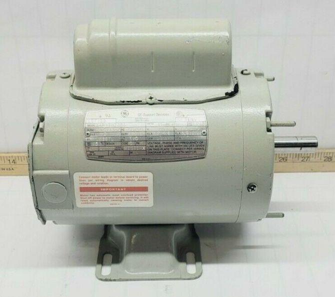 ge 1/3 hp ac electric motor 115/200230 vac 1625/1350 rpm ls56y frame  a4p17nz38a