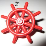 Lego Ship Pirates Boat Steering Wheel X3 Brown 4790 For Sale Ebay